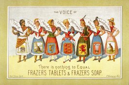 Advertisement for Frazer's Tablets and Soap