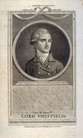 European Magazine, The Right Honorable Lord Sheffield