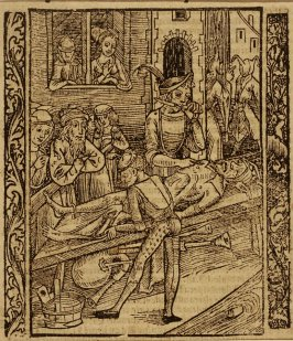 "Presumption of Wisdom: woodcut illustration for the original edition of the ""Narrenschiff"" (Ship of Fools), taken from the Latin reprint edition Basel"