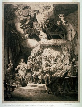 Copy after Rembrandt's Death of the Virgin