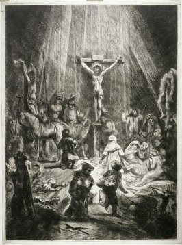 Christ crucified between two thieves (The Three Crosses) [copy]