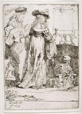 Death appearing to a wedded couple (Copy)