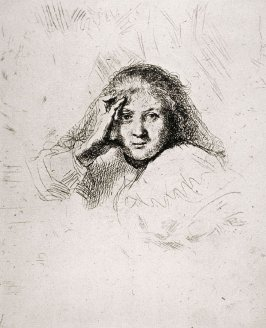 Saskia, wife of Rembrandt (Copy)