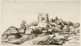 Landscape with a square tower (Copy)