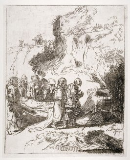 Christ carried to the tomb (Copy)