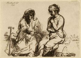 [An old woman speaking to a young woman] (Copy)
