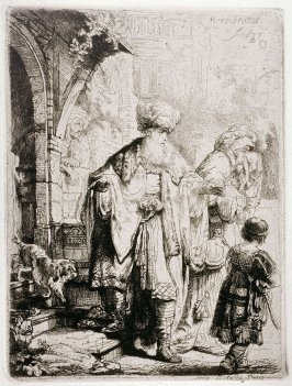 Abraham casting out Hagar and Ishmael (Copy)