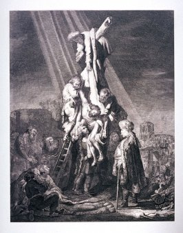 Christ taken down from the cross (Copy)