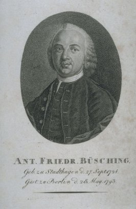Anthonius Friedrich Buesching