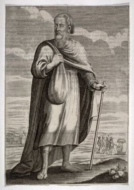 Man in robe and buskins