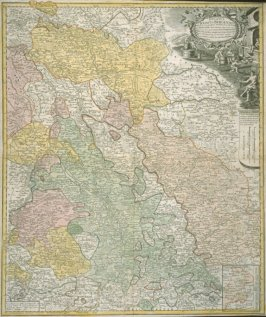 [Map of Central Europe, Luxembourg and environs]