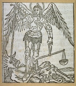 Saint Michael Slaying Dragon