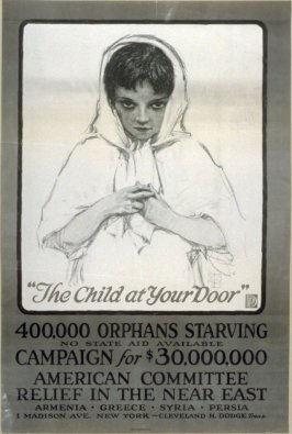 The Child at Your Door - World War I Poster
