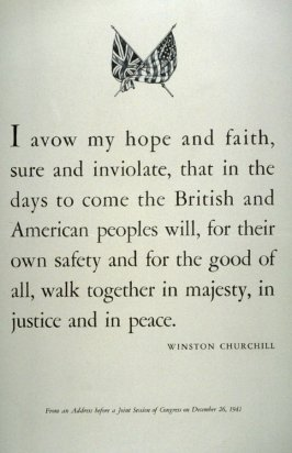 I Avow My Hope and Faith - World War II Poster