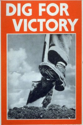 Dig for Victory - World War II Poster