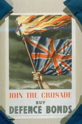 Join the Crusade, Buy Defence Bonds - World War II Poster