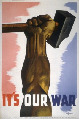 It's Our War - World War II Poster