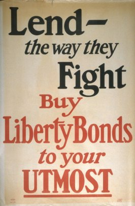 Lend - the way they Fight - World War I Poster