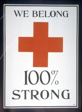 We Belong , 100% Strong - World War I Poster
