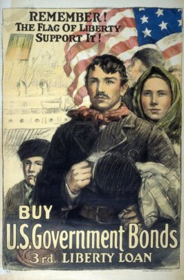 Remember! The Flag of Liberty Support It! - World War I poster