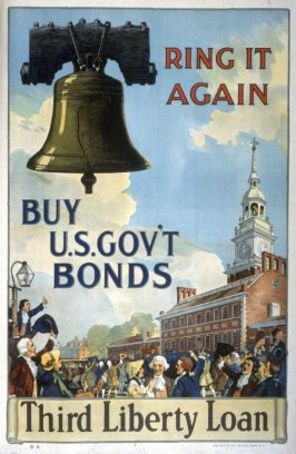 Ring It Again / Buy U.S. Gov't Bonds - World War I poster