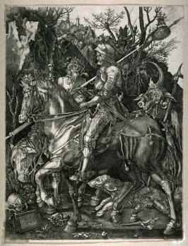 Copy after Dürer's Knight, Death, and the Devil