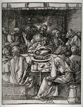 Copy after Dürer's The Last Supper from the Little Passion