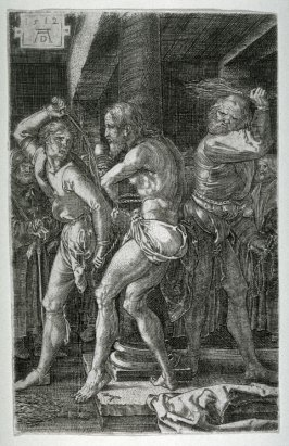 Copy after Durer's The Flagellation