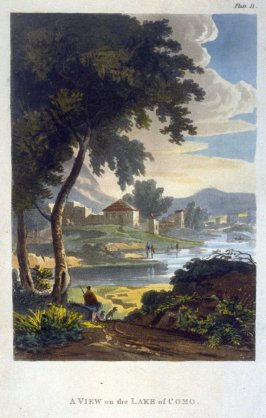 A View on the Lake of Como