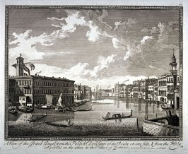 A View of the Grand Canal from the Publick Buildings of the Rialto...