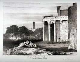 Temple of Antonino and Faustina, in the Roman Forum