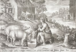 Prodigal Son Amid Swine
