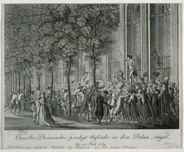 Desmoulins Meerts People To Revolt At The Royal Palace