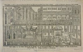 Procession of the Baptism of the King of Rome to the Church of Notre Dame in Paris...