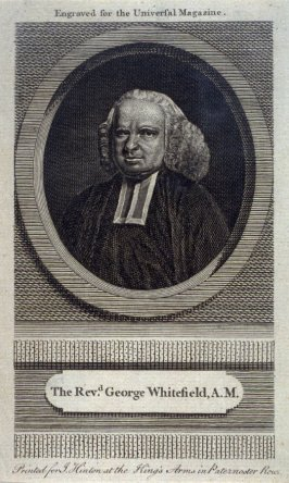 Universal Magazine the Reverand George Whitefield, A.M.