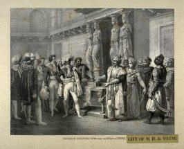 Napoleon Receiving Gifts From The Shah of Persia