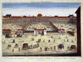 (One from a Series of 56 Prints): Vue du Palais des Thuilleries