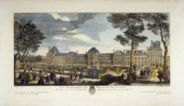 (One from a Series of 56 Prints): Les Promenades du Palais des Thuilleries