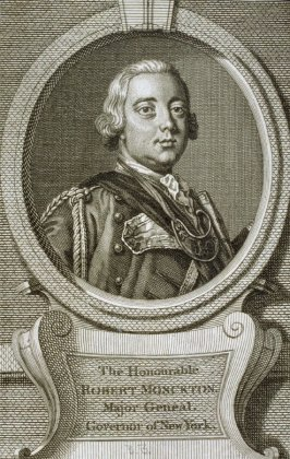 The Honorable Robert Monckton. Major General, Governor of New York