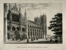 North Front of Westminster Abbey