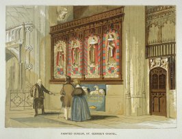 Painted Screen, St. George's Chapel