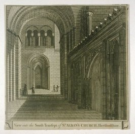 View into the South Transept of St. Alban's Church, Hertfordshire