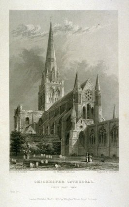 Chichester Cathedral - South East View