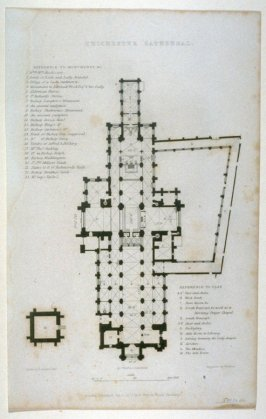 Chichester Cathedral - Plan