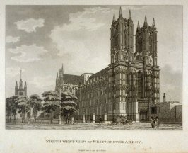 North West View Of Westminster Abbey