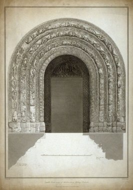 South Door-way of Malmsbury Abbey Church