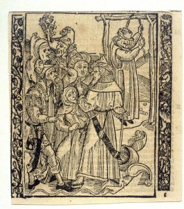 "Foreign Fools: woodcut illustration for the original edition of the ""Narrenschiff"" (Ship of Fools), taken from the Latin reprint edition Basel"