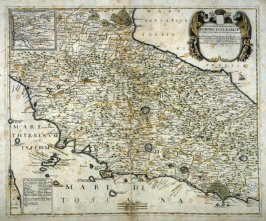 [Map of Northern Italy]The Dominion of the Church - described after the works of the best authors