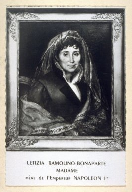 Letizia Ramolino-Bonaparte, mother of Napoleon