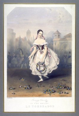 Fanny Cerrito in the Ballet Le Torreador